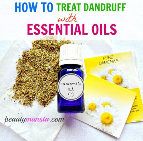 Essential Oils for Dandruff. These essential oils contain anti-fungal & soothing properties that will naturally help treat dandruff
