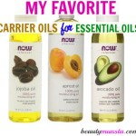 My Favorite Carrier Oils for Essential Oils