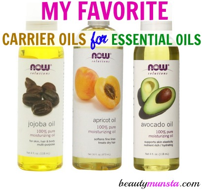 My Favorite Carrier Oils for Essential Oils - beautymunsta