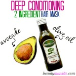 DIY Olive Oil and Avocado Hair Mask for Gorgeous Locks
