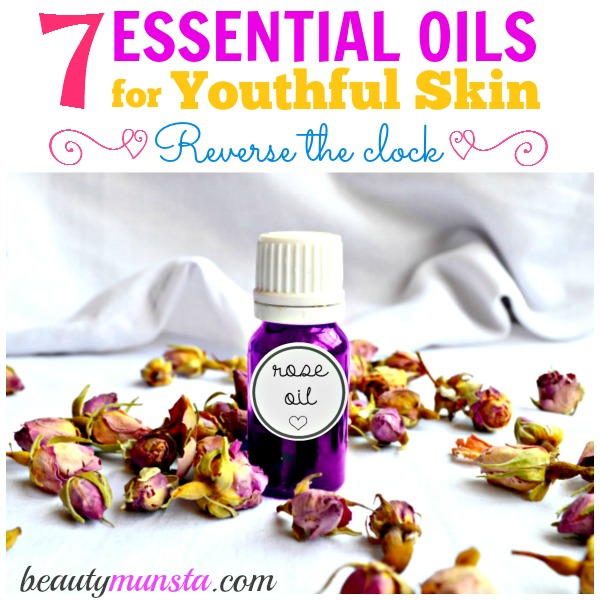 Reverse the clock essential oils for aging skin beautymunsta - The best oils for the skin ...