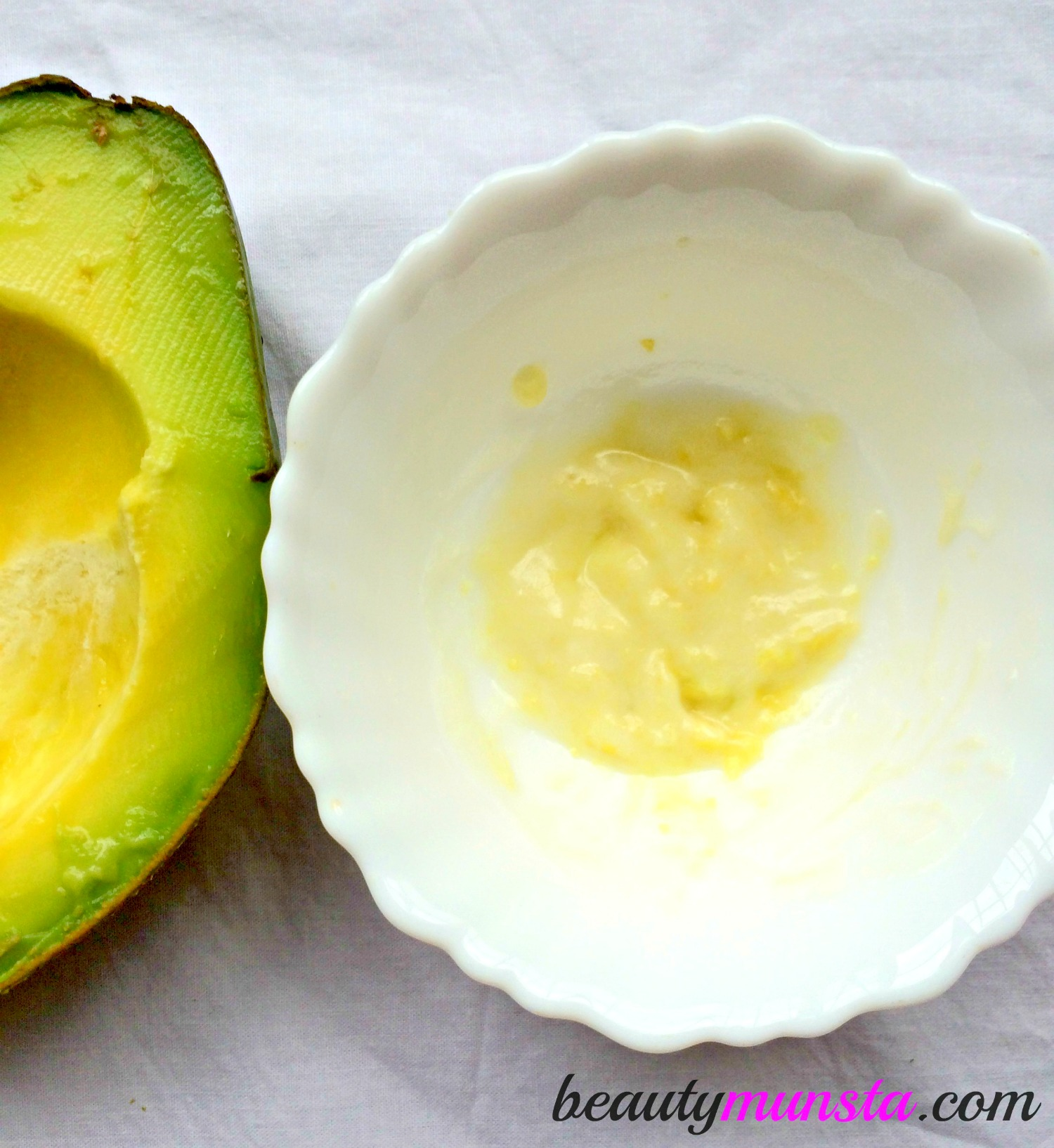 Slather this goodness onto your face for beautiful skin!