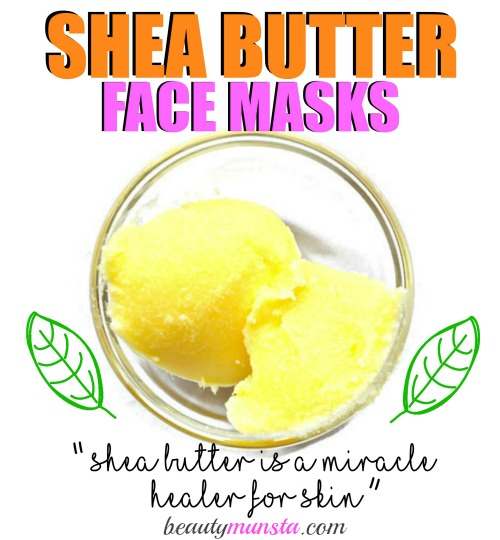 Shea butter is a miracle healer for skin and shea butter face masks are a great way to treat your skin!