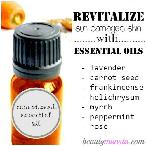 What Are The Best Essential Oils for Sun Damaged Skin