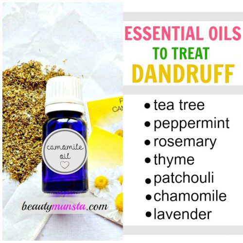 Disinfect & sooth an itchy scalp with these 7 essential oils for dandruff.