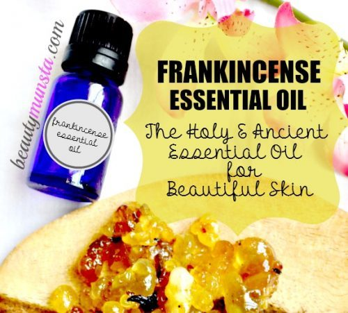 Because of its powerful anti-inflammatory, antibacterial and astringent properties, there are many beauty benefits of frankincense essential oil!