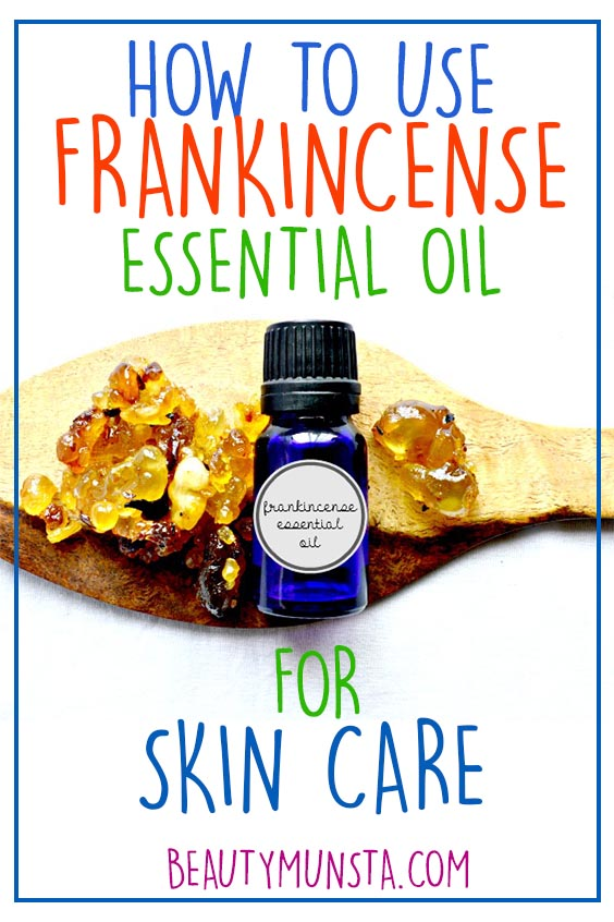 how to use frankincense essential oil for skin care