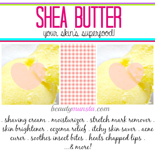 Shea butter is a multi-purpose beauty product. You might start choosing it over coconut oil like I do sometimes!
