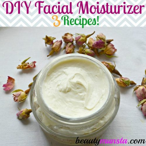 Make your own shea butter facial moisturizer easily at home with these 3 simple recipes!