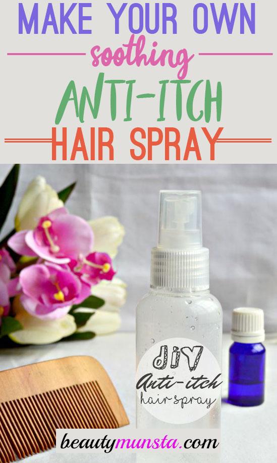 diy anti itch hair spray