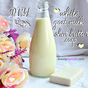 Homemade Shea Butter and Goat Milk Soap Recipe
