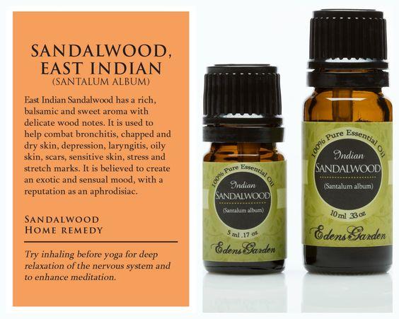 Best sandalwood essential oil