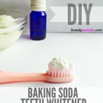 DIY Natural Baking Soda Teeth Whitener