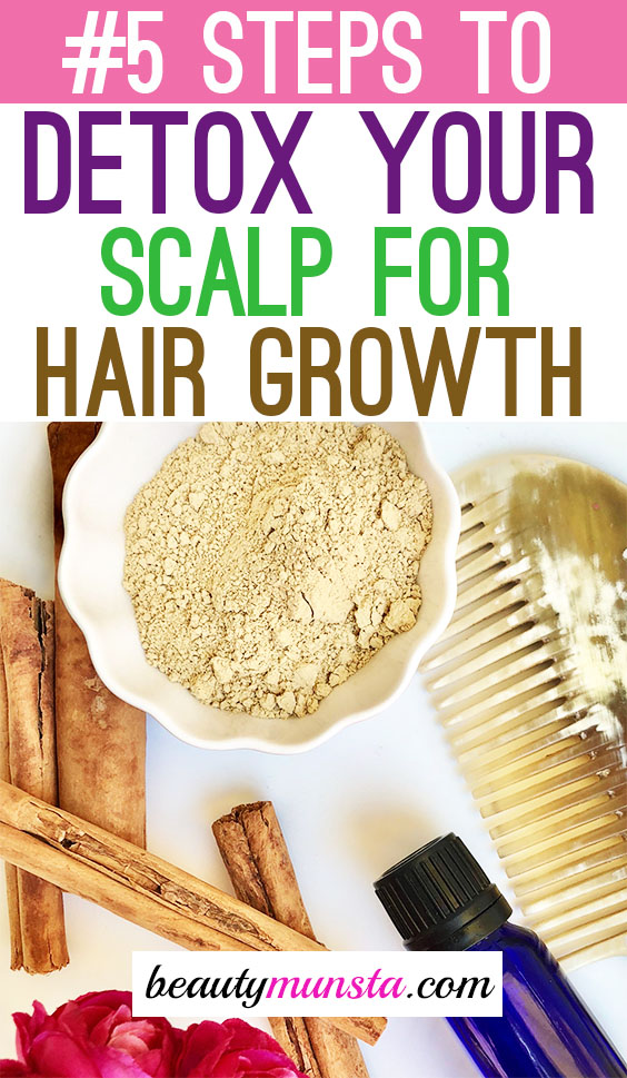 detox your scalp naturally at home
