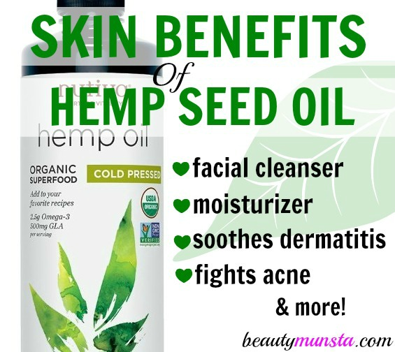 Could hemp seed oil be your next miracle skin care product?! Discover over 10+ benefits of hemp seed oil for skin in this post!