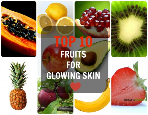 Want beautiful glowing skin?! Start eating these fruits!