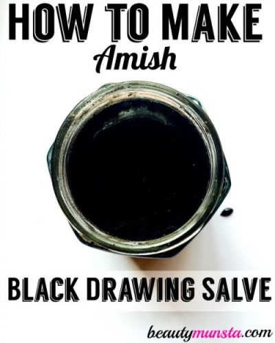 Homemade Amish Drawing Salve Recipe for Splinters, Boils