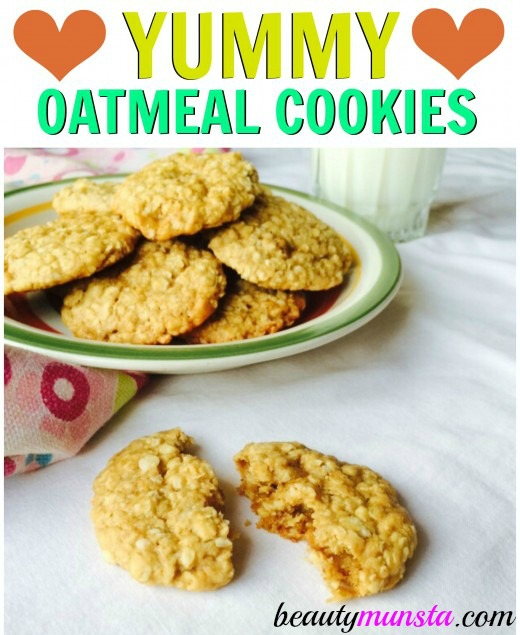 A quick and easy vegan oatmeal cookie recipe to satisfy your sugar craving right now!