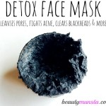 Bentonite Clay and Activated Charcoal Face Mask | Detox Your Face