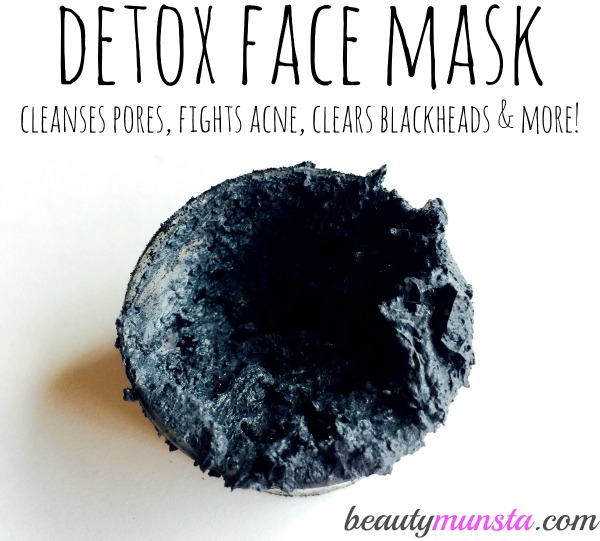 bentonite clay and activated charcoal face mask detox your face beautymunsta. Black Bedroom Furniture Sets. Home Design Ideas