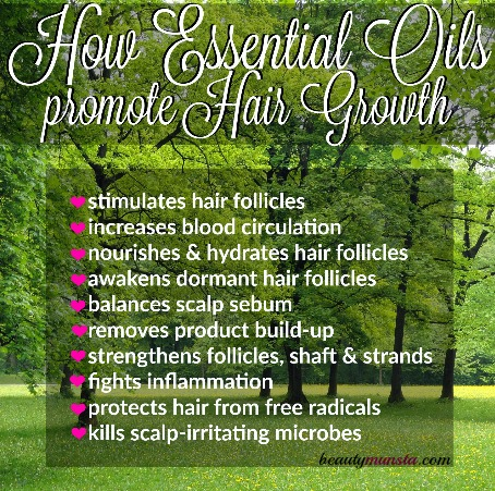 10 Benefits Of Essential Oils For Hair Growth How They Work