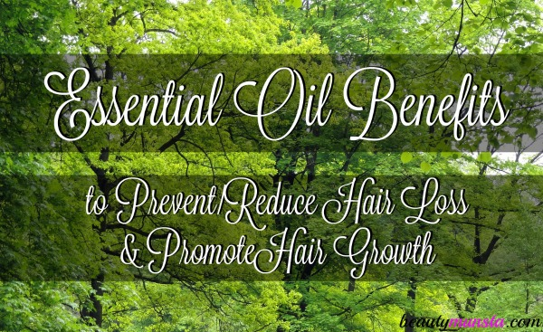 Learn how exactly essential oils promote hair growth!