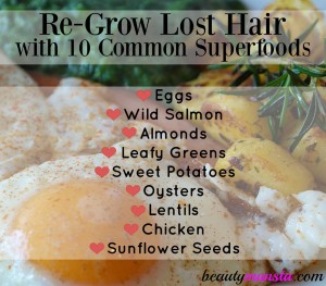 10 Common Superfoods for Hair Regrowth