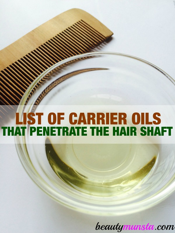 Discover the top 7 oils that penetrate the hair shaft in this list.