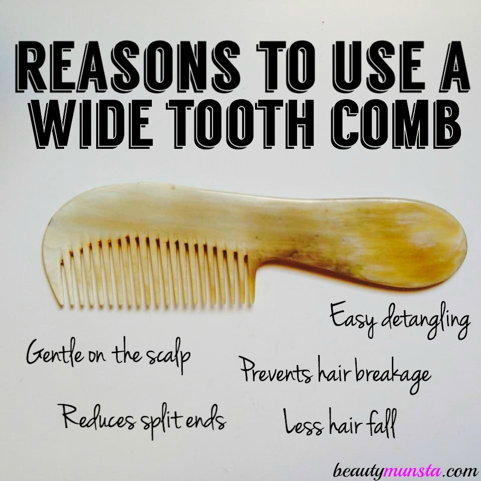 Why Is A Wide Tooth Comb Good For Hair 5 Reasons To Start