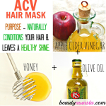 Apple Cider Vinegar Hair Mask for Shiny & Silky Locks