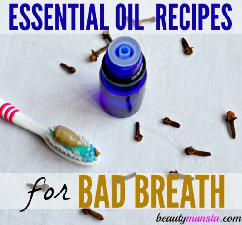 7 Easy & Effective Essential Oil Recipes for Halitosis