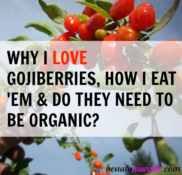 Gojiberries are amazing superfoods and POWERFUL antioxidant and anti-inflammatory benefits!