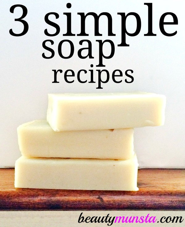 Here are 3 DIY melt and pour soap recipes with shea butter! Learn how to