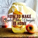 How to Make Your Own Apple Cider Vinegar (from Scratch!)