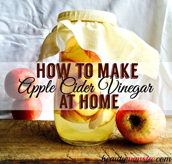 How to Make Your Own Apple Cider Vinegar (from Scratch ...