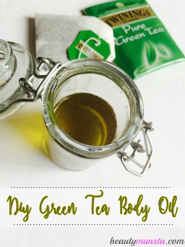 DIY Green Tea and Coconut Oil Moisturizer | My Body Oil