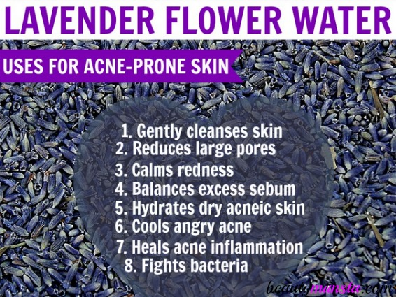 Lavender hydrosol for acne: how it works, benefits and 4 DIY recipes to heal your skin naturally