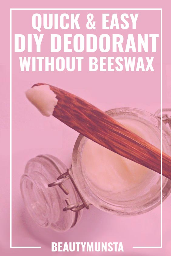 DIY DEODORANT WITHOUT BEESWAX
