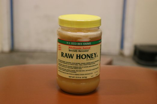 Honey for eyes: Look for pure raw honey for best results!