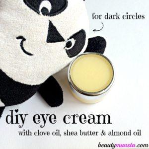 DIY Eye Cream for Dark Circles and Under Eye Bags