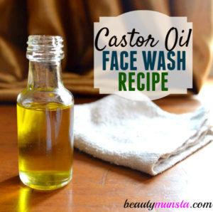 Castor Oil Face Wash Recipe