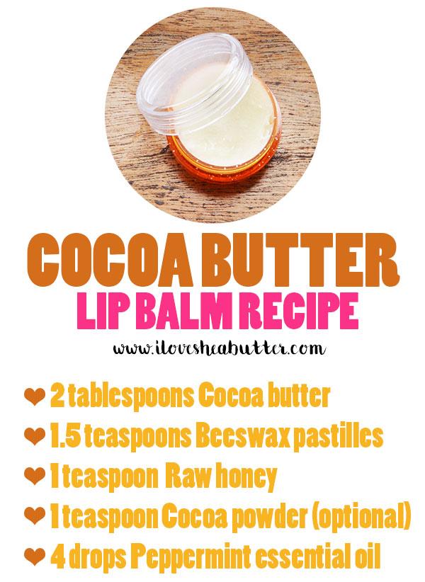 coca butter lip balm