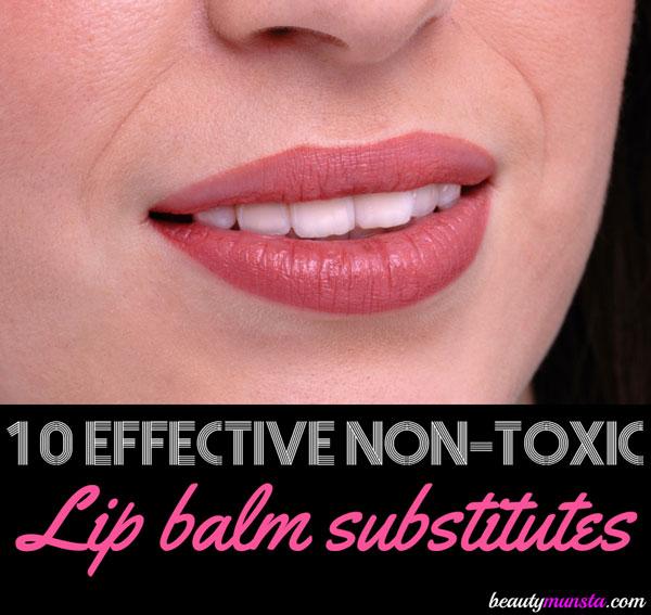 Top 10 Lip Balm Substitute List | Non-Toxic Alternatives for