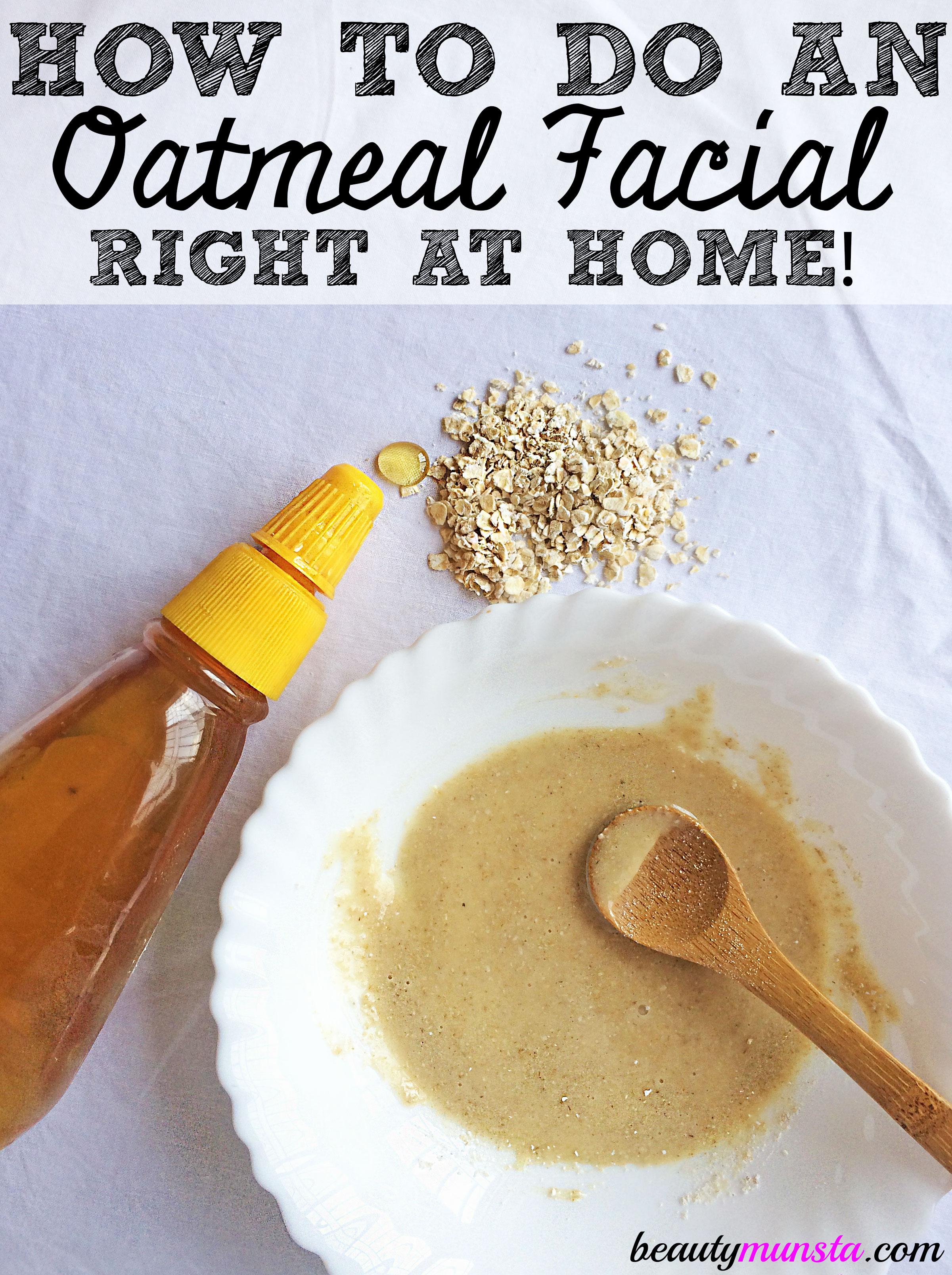 DIY Oatmeal Facial at Home | Easy Way