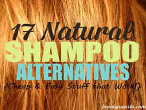 17 Natural Shampoo Alternatives for the Crunchy at Heart