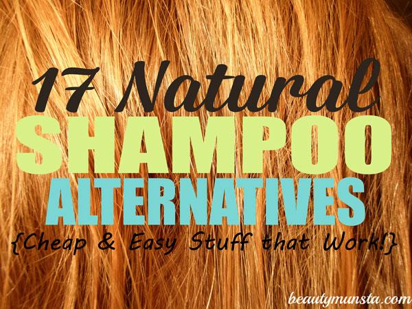 shampoo natural alternatives