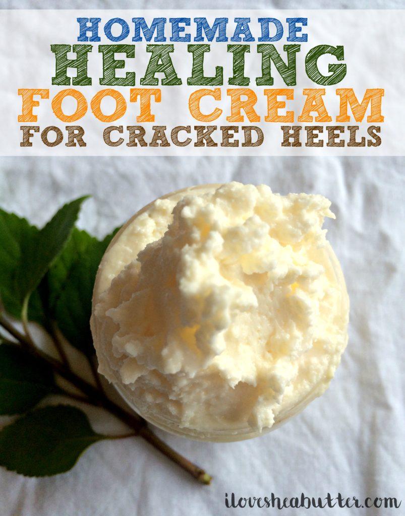 shea butter foot cream recipe