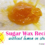 Easy Sugar Wax Recipe No Lemon Juice Involved
