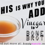 Why We Add Vinegar to Bone Broth