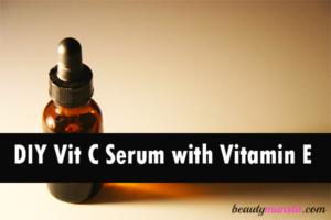 DIY Vitamin C Serum with Vitamin E | Powerful Anti-Aging Secret